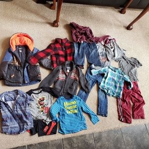Lot of 5/5T boys clothes Lots of Osh Kosh